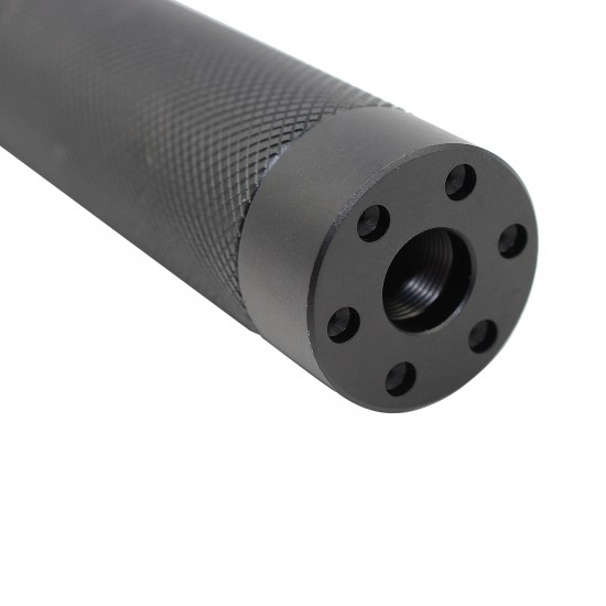 AR-15 Mock Muzzle Brake Flush Mount Shroud 1/2x28 Thread