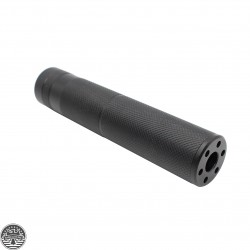 "AR-15 ""OVER BARREL"" 6"" Inch 1/2x28 Thread Fake Can"