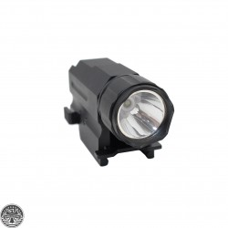 150 Lumens Flashlight with Quick Release Mount