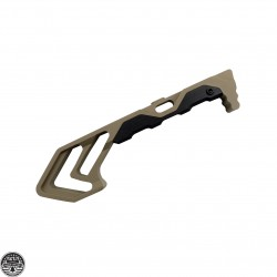Cerakote FDE Skeletonized Forend Grip