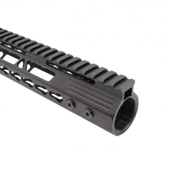 AR-15 Ultra Slim Keymod Handguards V2 W/ Steel Barrel Nut