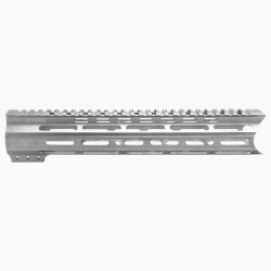 "AR-15 12"" M-LOK Super Slim Light Free Float Handguard - RAW (MADE IN USA)"