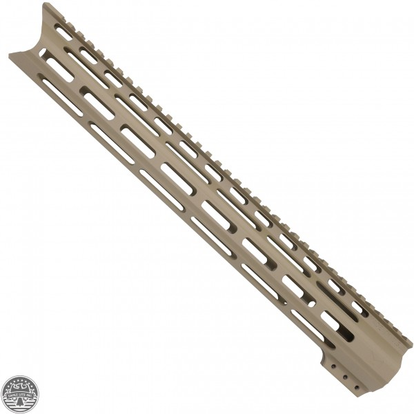 "CERAKOTE FDE| AR-15 15"" Angle Cut Clamp on M-LOK Handguard 