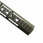 CERAKOTE OD-GREEN | AR-15 Angle Cut Clamp on M-LOK Handguard | Made in USA