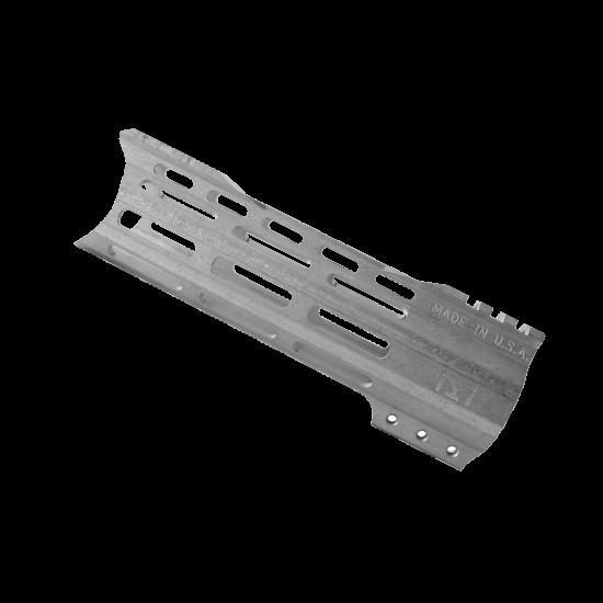 "AR-15 7"" Free Float M-LOK Handguard with ""C"" Hybrid Cut -Raw   Made In USA"
