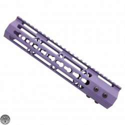 "Cerakote BRIGHT PURPLE | AR-15 10"" Ultra Light Frame Rail System"
