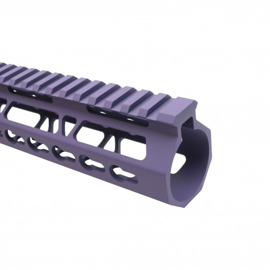 "Cerakote BRIGHT PURPLE   AR-15 10"" Ultra Light Frame Rail System"