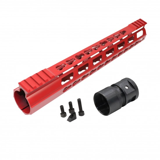 Cerakote Red   AR-15 Ultra Light Frame Rail System