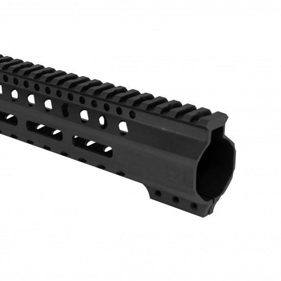 AR-15 M-LOK Super Slim Free Float Handguard  with Steel Barrel Nut | Made in USA