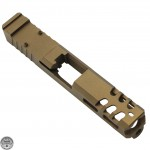 Glock 19 Custom Slides with Trijicon RMR Cut Out - BRONZE