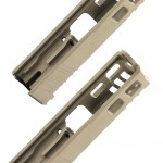 Glock 19 Custom Slides with Trijicon RMR Cut Out - FDE