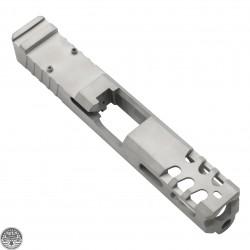 Glock 19 Custom Slides with Trijicon RMR cut out -Bead Blast