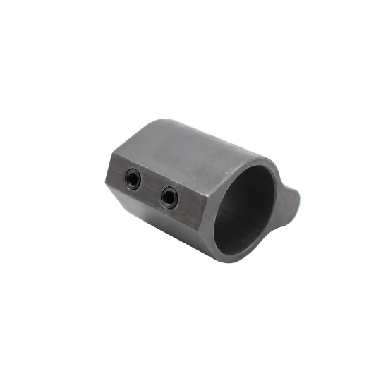 .750 Low Profile Steel Gas Block with Roll Pins & Wrench -Black