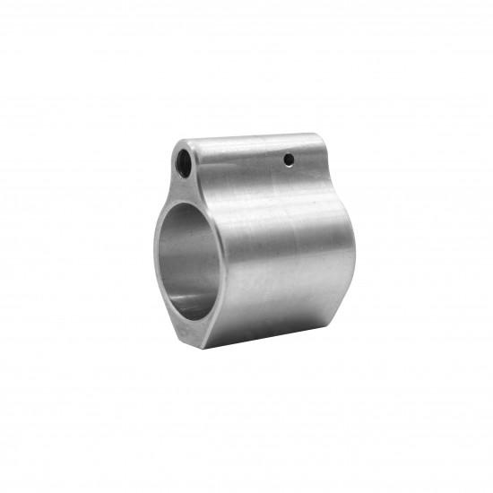 Low-Profile Micro Steel AR Gas Block .750 -Stainless Steel