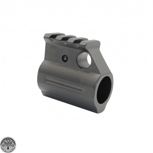 AR Picatinny Style Single Rail Gas Block .750 Dia.
