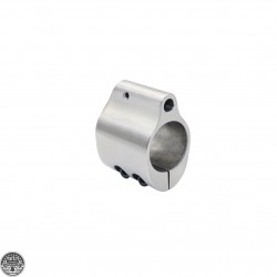 .750 Stainless Low Profile Steel Gas Block