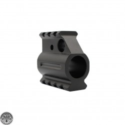 AR Aluminum Picatinny Rail Gas Block 45 Slant