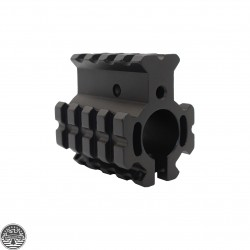 AR-QUAD RAIL GAS BLOCK