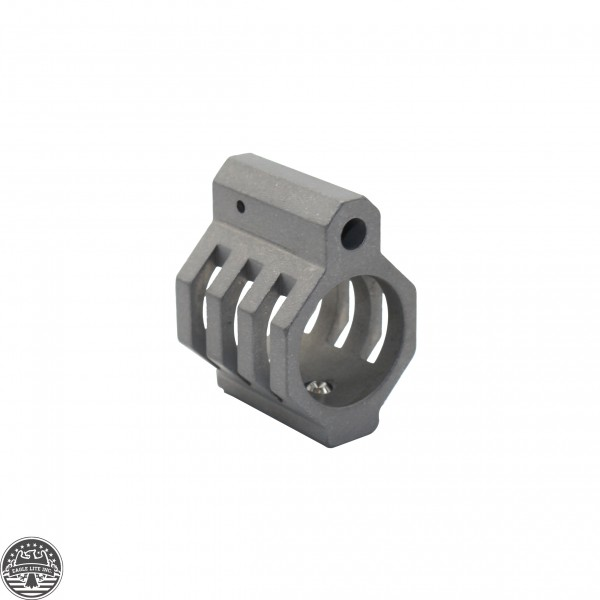 AR Skeletonized Low Profile Gas Block Raw | Made In U.S.A