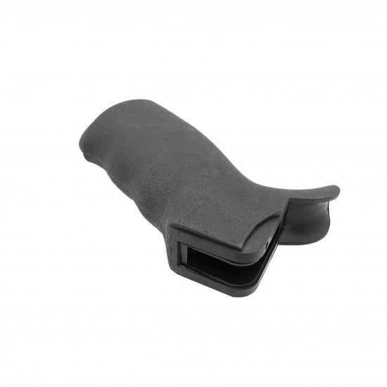 Pistol Grip AR-15 Right Hand Overmolded Rubber Black