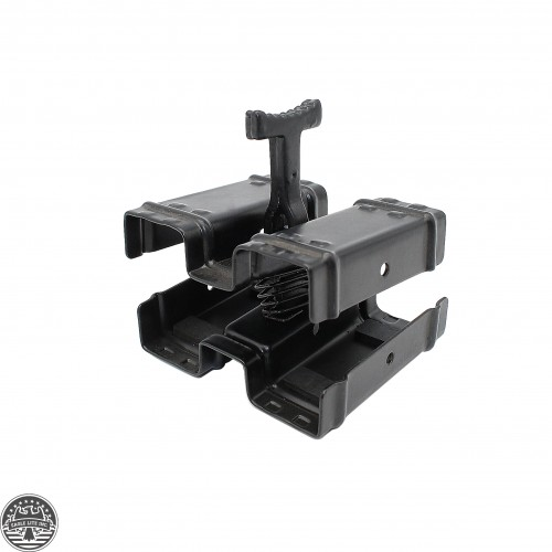GSG-5 GSG5 DOUBLE MAGAZINE CLAMP w/ QUICK RELEASE BLACK