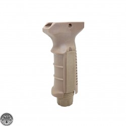 Ergonomic Ambidextrous New Tactical Picatinny Rail Vertical Foregrip - Tan