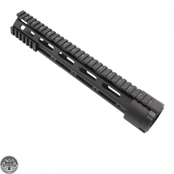 "AR-10 Free Float Quad Rail 12"" W/Detachable Rails"