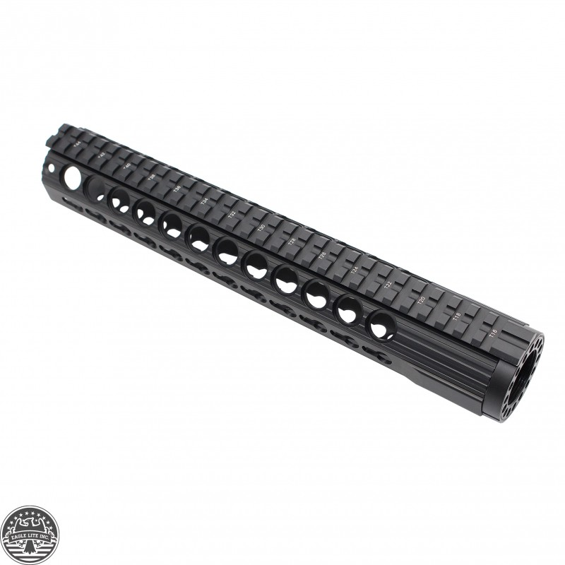 Ar 15 Keymod Free Float Hand Guard Wdetachable Rails12
