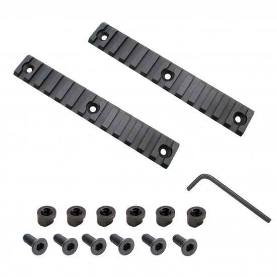 "AR-15 Slim Keymod Free Float Hand Guard W/Detachable Rails/15"""