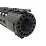 AR-15 Slim Keymod Free Float Hand Guard W/Detachable Rails/15""