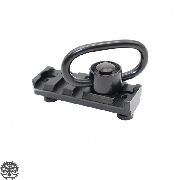 2 Inch 4 Slot Tactical Keymod Rail with Quick Detach Sling Swivel .223/5.56/.308