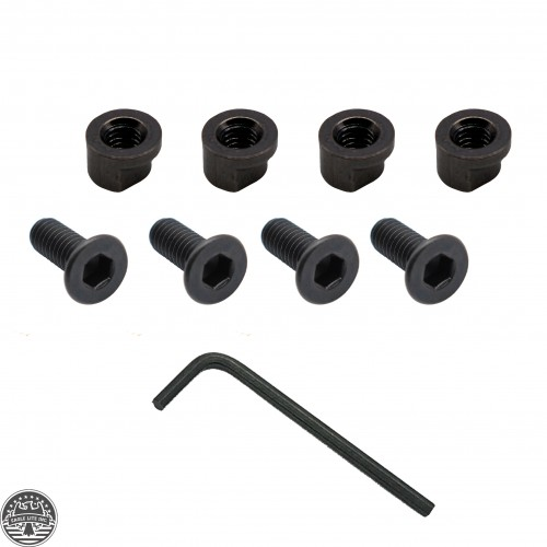 4 sets Keymod Rail Screw & Nut - Black