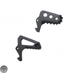 Oversize Skeleton or Square Charging Handle Latch -Black