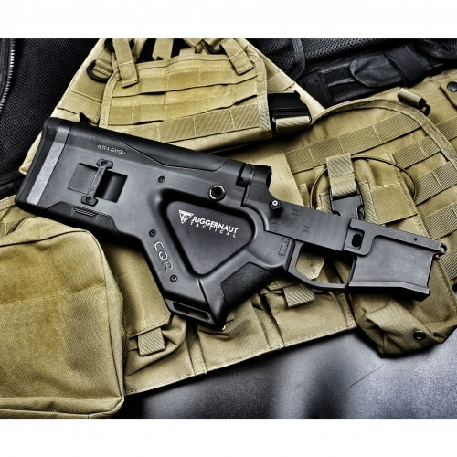 AR-15 CQR Featureless Stock and 80 Percent Billet Lower |MADE IN GERMANY