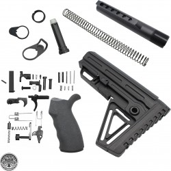AR-15 Overmold Ambidextrous Alpha Lower Build Kit