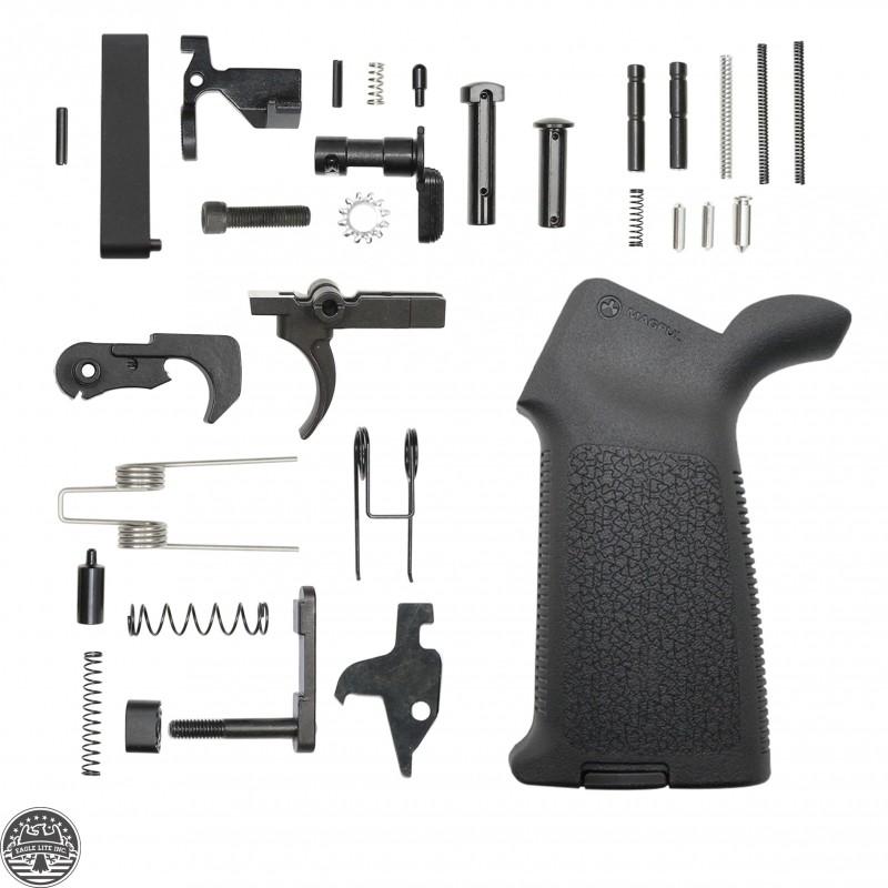 AR-15 Lower Parts Kit W/ MAGPUL Moe Pistol Grip