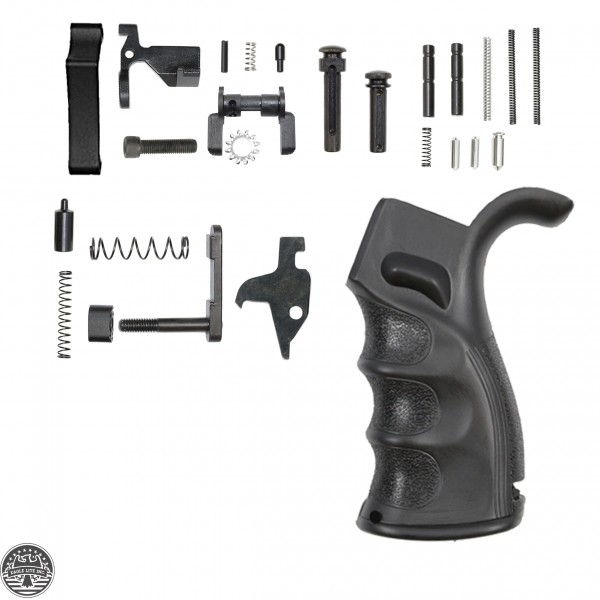 AR-15 Ambidextrous Lower Receiver Parts Kit | LPK19 - NO TRIGGER AND HAMMER