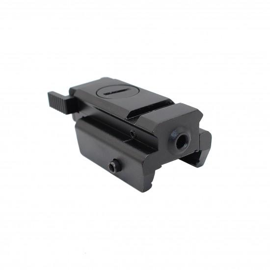 Pistol Laser Sight with Weaver Base