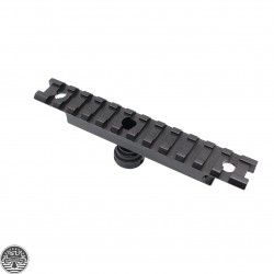 Tactical AR Carry Handle See Thru Scope Mount for 20 mm Weaver Rail