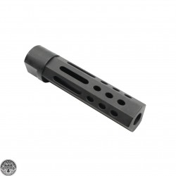 "AR-10 3.5"" Oval Port Muzzle Brake"