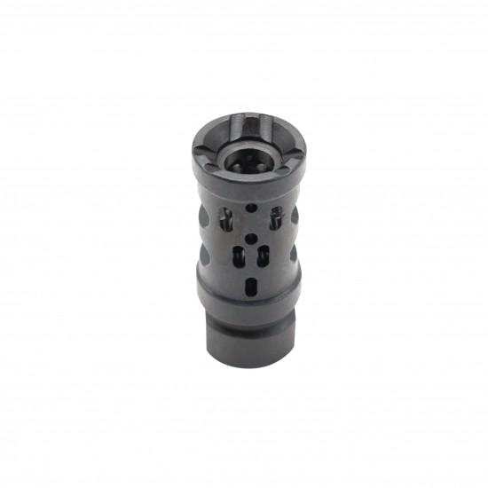AR-15 Multi Ported Compensator Upsilon Muzzle Brake