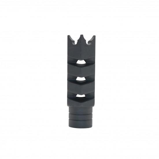 AR-15 .223 5.56 Nato Steel Shark Muzzle Brake|American Flag Laser Etched