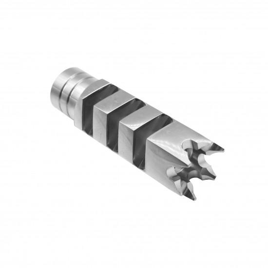AR-15 .223 5.56 Nato Shark Stainless Steel Muzzle Brake