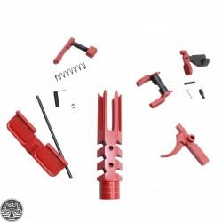 "Cerakote Red | AR-15 ""Reaper"" Kit Parts"
