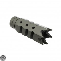 Cerakote OD-Green |AR-10 / 308 Shark Muzzle Brake + Free Crush Washer