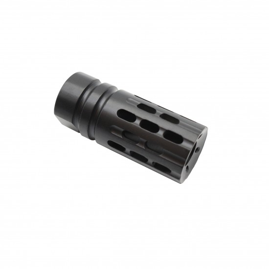 Cerakote BLACK   AR-15 Rifle Multi Ported Flash Suppressor Muzzle Brake