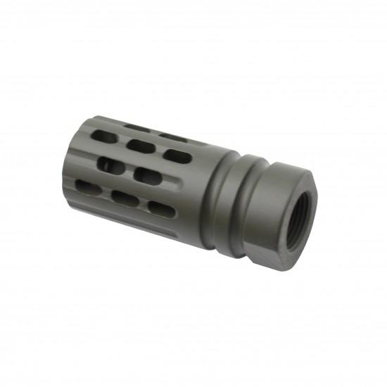 Cerakote OD-Green   AR-15 Multi Ported Flash Suppressor Muzzle Brake