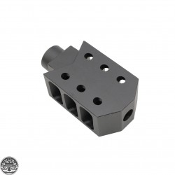 AR-15 Tactical Muzzle Brake Recoil Compensator 1/2x28 Thread
