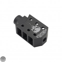 AR-15 1/2x28 Thread Recoil Compensator | PUNISHER