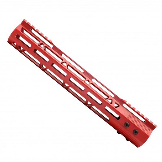 Cerakote Red | AR-15 M-LOK Lightweight Frame Rail System 12''